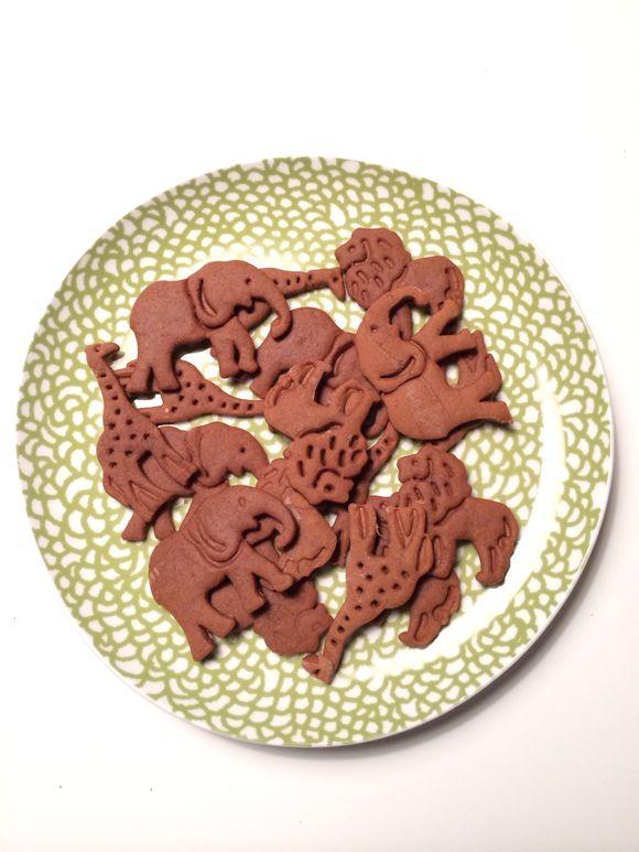 Animal Gingerbread Cookies